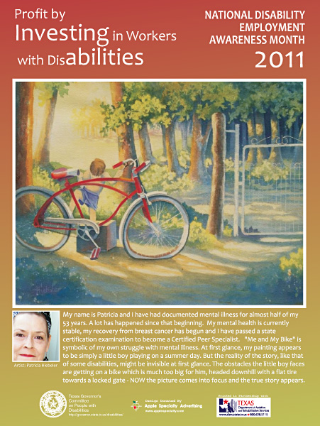 2011 NDEAM Poster - Me and My Bike