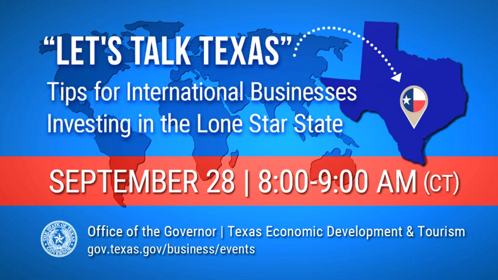 Let's Talk Texas: Tips for International Businesses Investing in the Lone Star State Thumbnail
