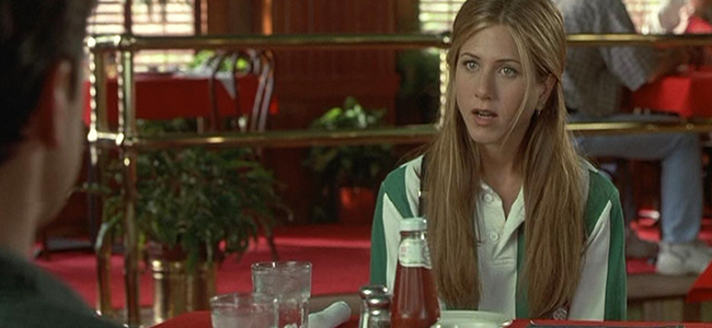 Jennifer Aniston in Office Space