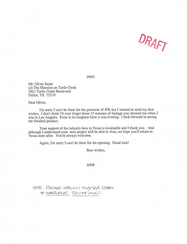 TFC50_Archive_1990s_JFK_Letter.jpg Image