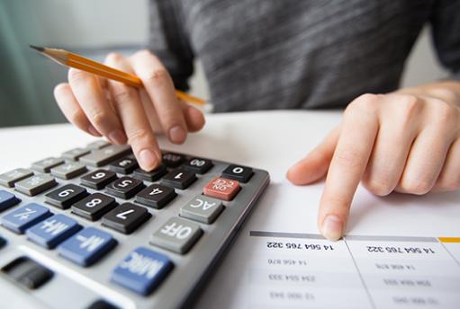 Accounting thumb