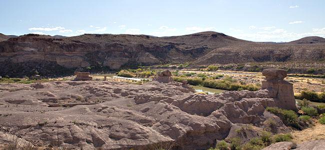 Landscape view of Big Bend