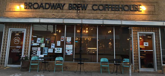 Broadway Brew Coffeehouse in Plainview