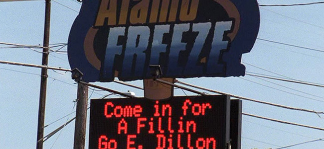 Alamo Freeze in Friday Night Lights