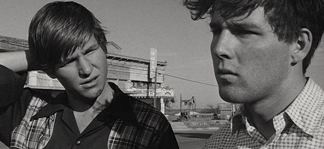 Jeff Bridges and Timothy Bottoms in 'The Last Picture Show'