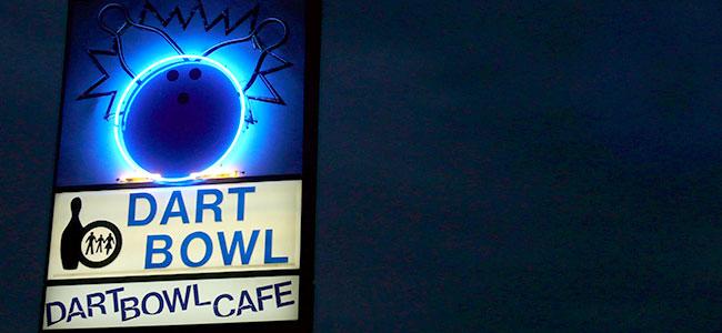 Dart Bowl Signage