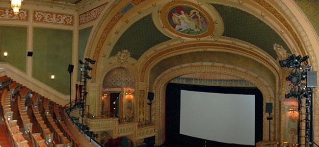 Interior of the Paramount Theatre