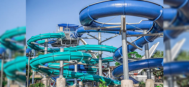 Volente Beach Waterpark Slides