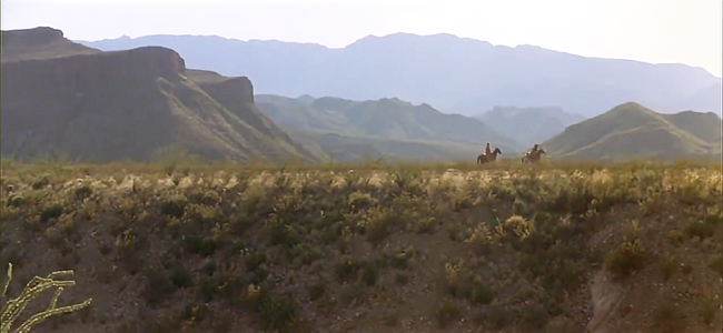 Big Bend National Park in Barbarosa