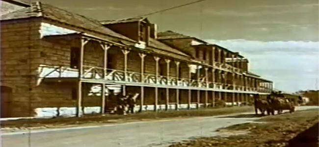 Fort Clark Commissary in FIVE BOLD WOMEN