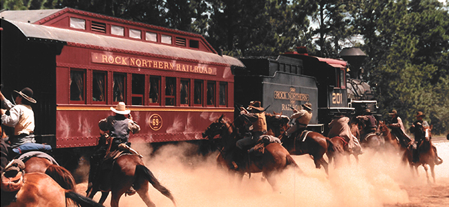 Texas State Railroad in AMERICAN OUTLAWS