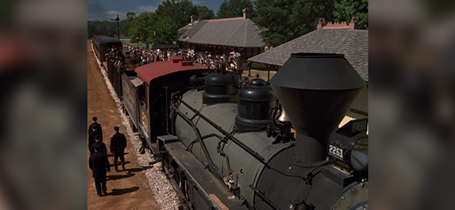 Texas State Railroad in ROUGH RIDERS
