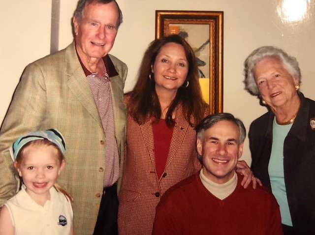 The Bush and Abbott families.