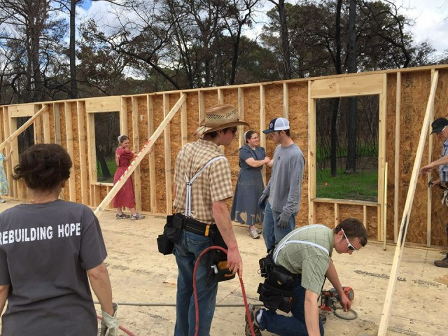 The Bastrop County Long Term Recovery Team Volunteers Rebuild a Home