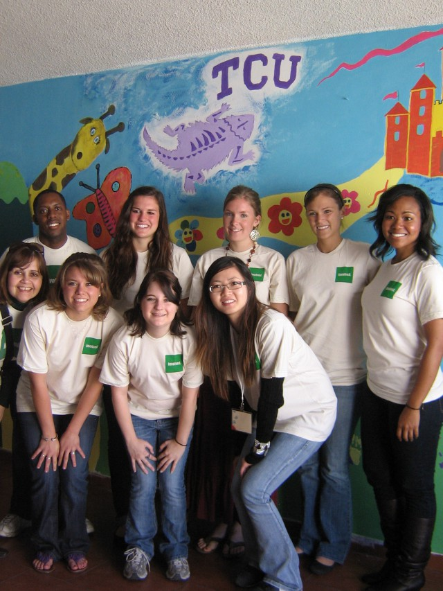 TCU Service Project Volunteers