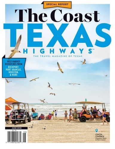 Texas Highways coast cover