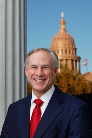 Texas Governor Gregg Abbott