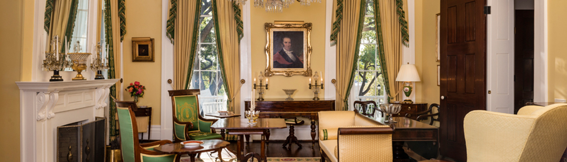 Small Parlor of the Texas Governor's Mansion