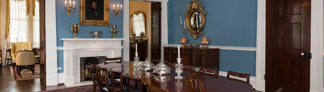 Dining Room of the Texas Governor's Mansion