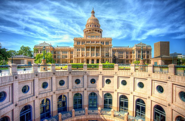 Texas State Capital Panoramic View