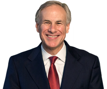 Governor Greg Abbott Headshot