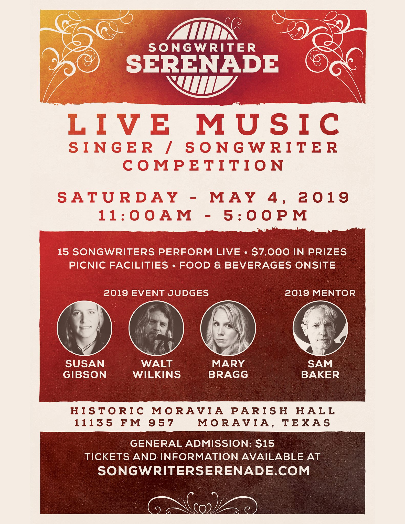 Songwriters Serenade Contest | Texas Music Office | Office