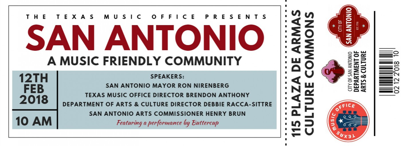 San Antonio And Denton To Receive Music Friendly Community