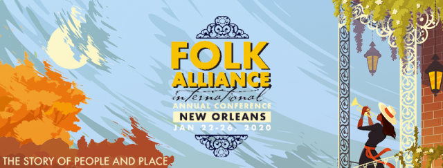 Folk Alliance International banner