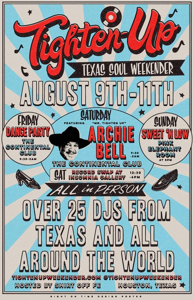 Tighten-Up Texas Soul Weekender poster