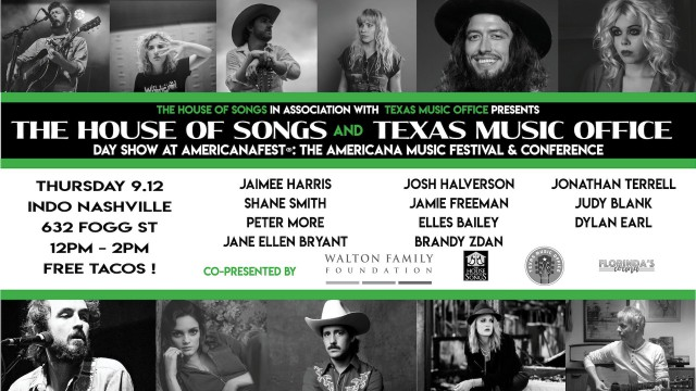 TMO and House of Songs Americana Conference Texas Music Showcase