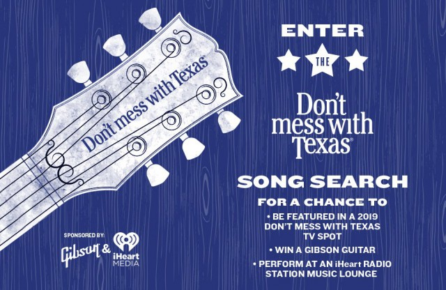 Don't Mess With Texas Song Search