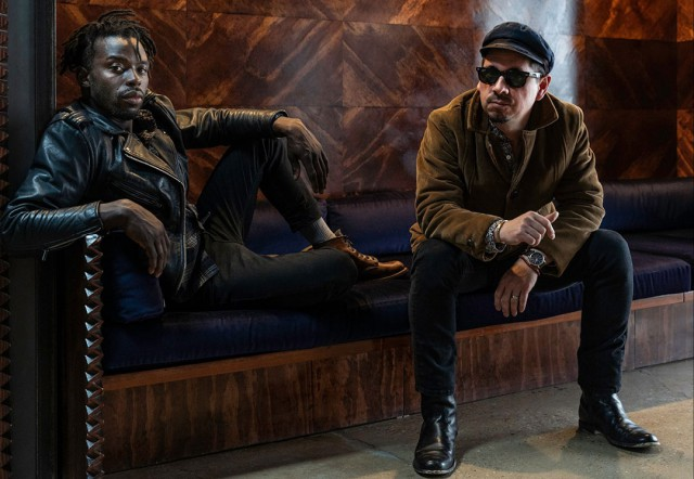 Best New Artist nominee, Black Pumas are a soul-funk duo from Austin, Texas, that consists of singer Eric Burton (pictured left) and guitarist-producer Adrian Quesada
