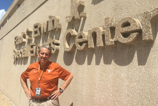 Director of the Frank Erwin Center, John Graham.