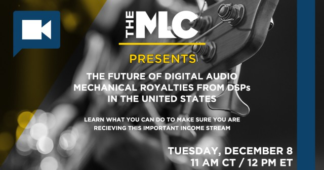 Two MLC webinars will occur in Texas this December!