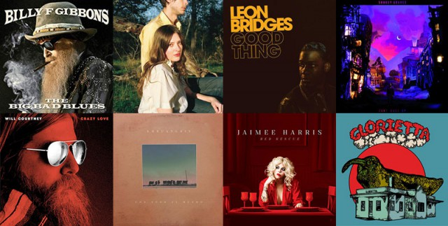 2018's Top Selling Texas Artists at Texas Record Stores