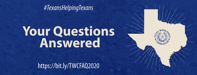 TWC Questions Answered graphic design image/poster