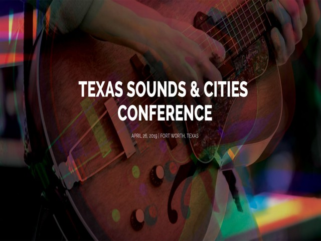 Texas Sounds and Cities Conference photo