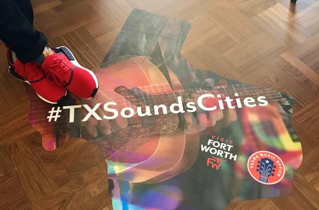 Texas Sounds & Cities poster