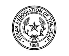 Texas Association of the Deaf logo