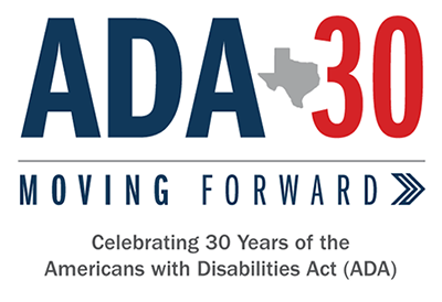 ADA-30 Moving Forward: Celebrating 30 Years of Americans with Disabilities Act (ADA)