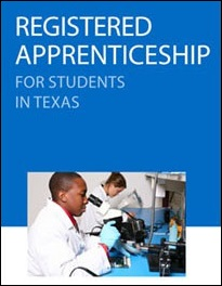 Registered Apprenticeship for Students in Texas brochure cover