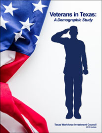 Veterans in Texas report cover
