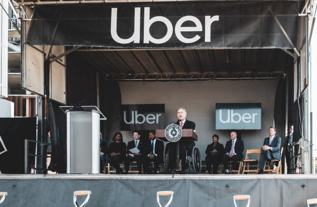 Governor Abbott Delivers Remarks At Groundbreaking Of New Uber Hub In Dallas