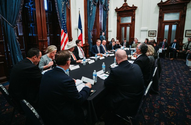 Governor Abbott Convenes Domestic Terrorism Task Force Image