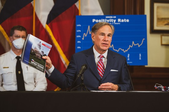Governor Abbott Provides Update On COVID-19 Response, Urges Texans To Follow Guidelines