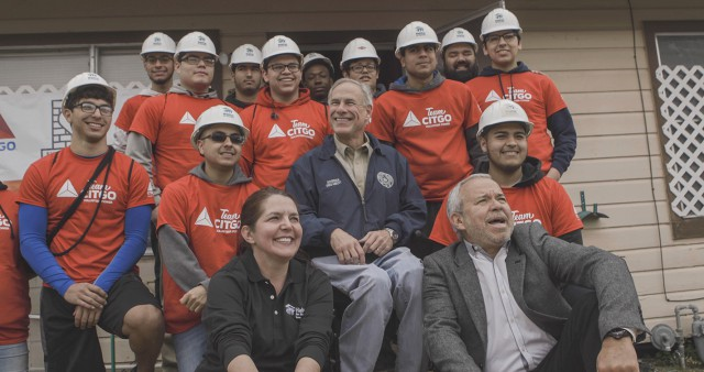 Governor Abbott Joins CITGO To Announce Hurricane Relief Donation To Habitat For Humanity Image
