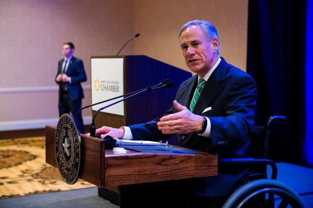 Governor Abbott Delivers State Of The State Remarks At North San Antonio Chamber Of Commerce Luncheon Image