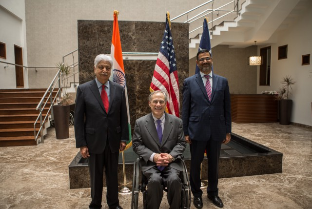 Governor Abbott Announces Launch Of New Wipro Technology Center In Plano, Texas Image