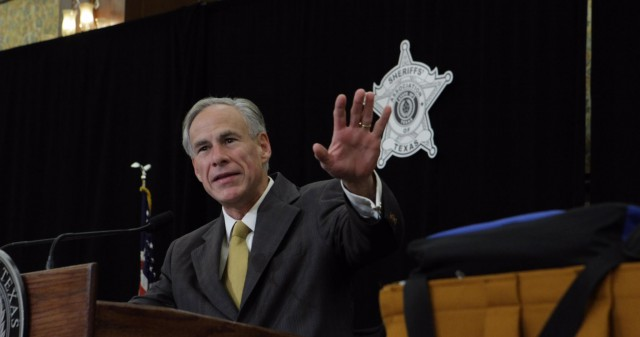 Governor Greg Abbott delivers remarks to the 139th annual Sheriffs' Association Training Conference Image