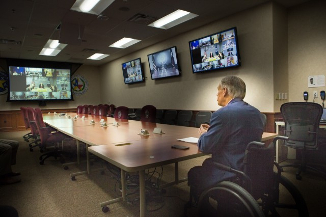 Governor Abbott participates in White House's 2017 Hurricane preparedness briefing Image